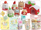 すみっコぐらしコレクション クリスマスver./わくわくラッキーカラーアイテム/ジッパーバッグ
