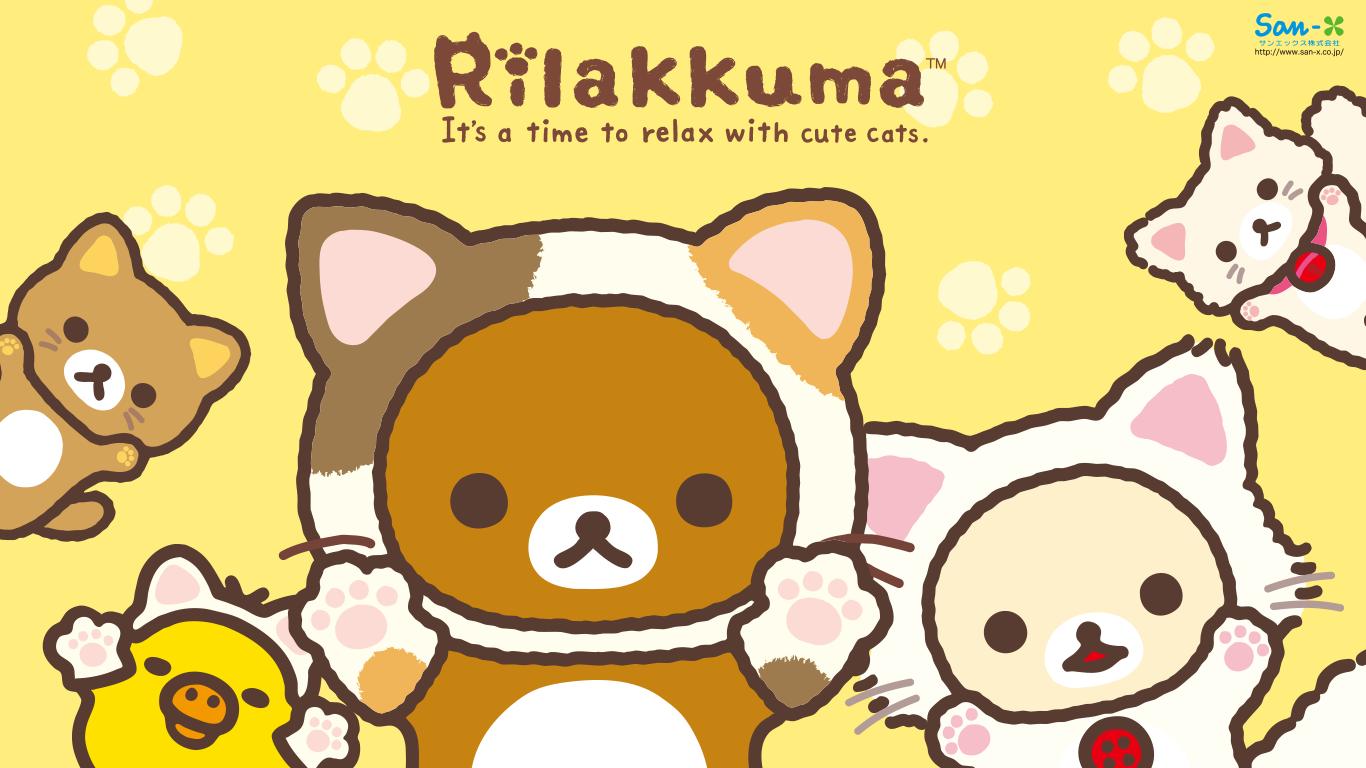 【高画質】リラックマ・コリラックマ PCデスクトップ壁紙【SAN,X Rilakk\u2026