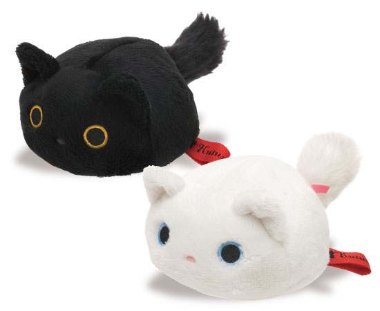 左:猫まるまるぬいぐるみコインケース(靴下にゃんこ)